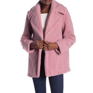 NWT French Connection Faux Shearling Teddy Jacket